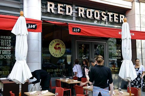 """Red Rooster Harlem """"Grade Pending"""" sign"""