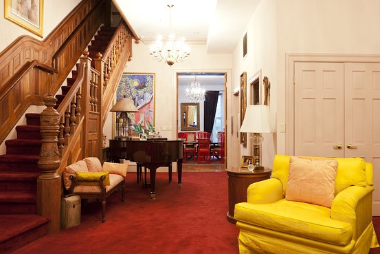 Inside Maya Angelou S Mt Morris Park Home By The Wall