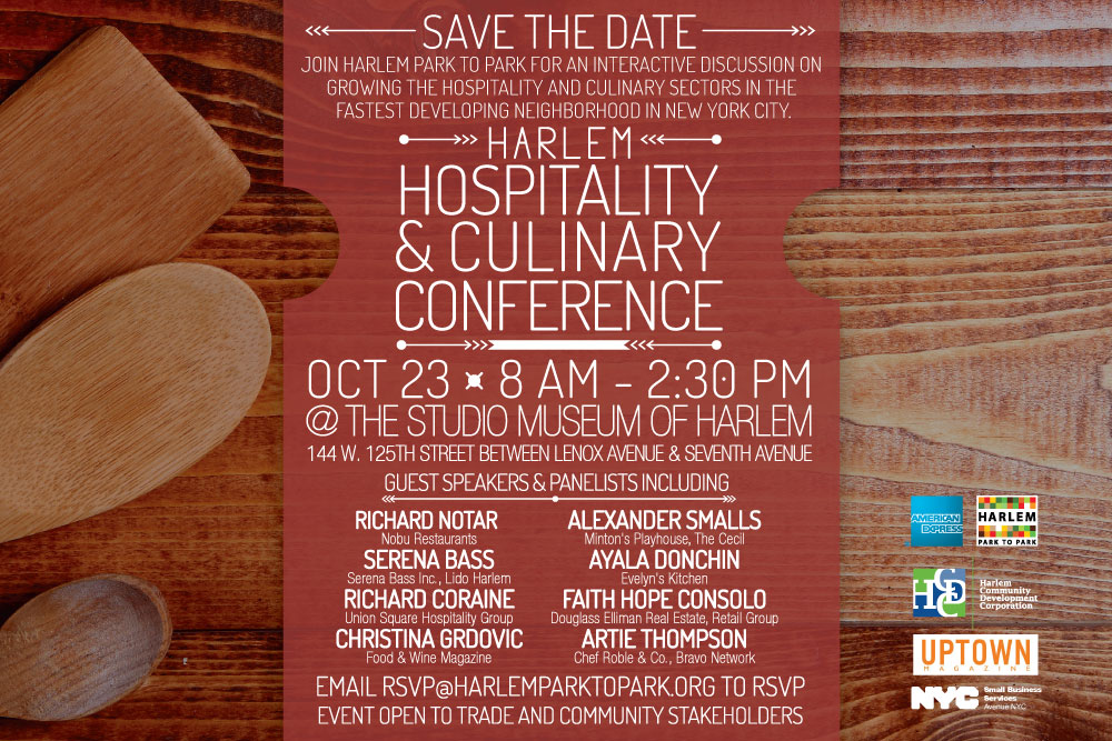 save the date second annual harlem hospitality and culinary