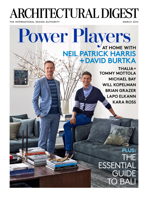 Guess Which Harlem Brownstone Landed The Front Cover Of Architectural Digest For March
