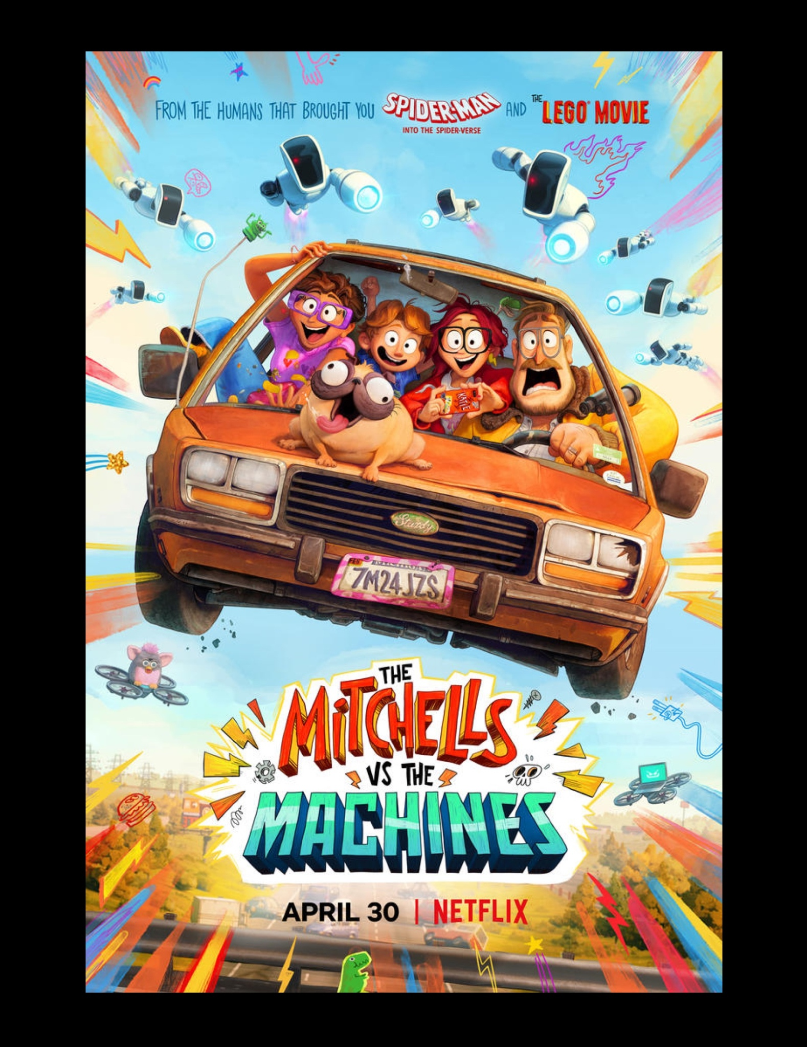 Watch The Mitchells vs The Machines April 30 on Netflix | LaptrinhX / News